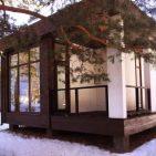 Зима в Айтау, гостевой дом