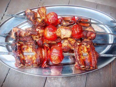Ребрышки приготовленные в тандыре