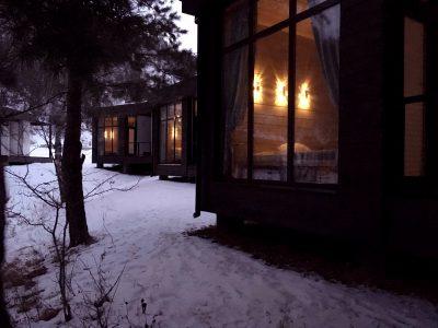 Зимний вечер в Айтау