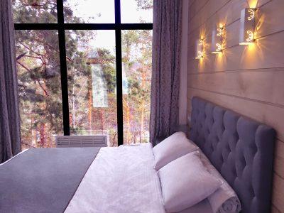 Зимний дом Айтау - красивый вид.