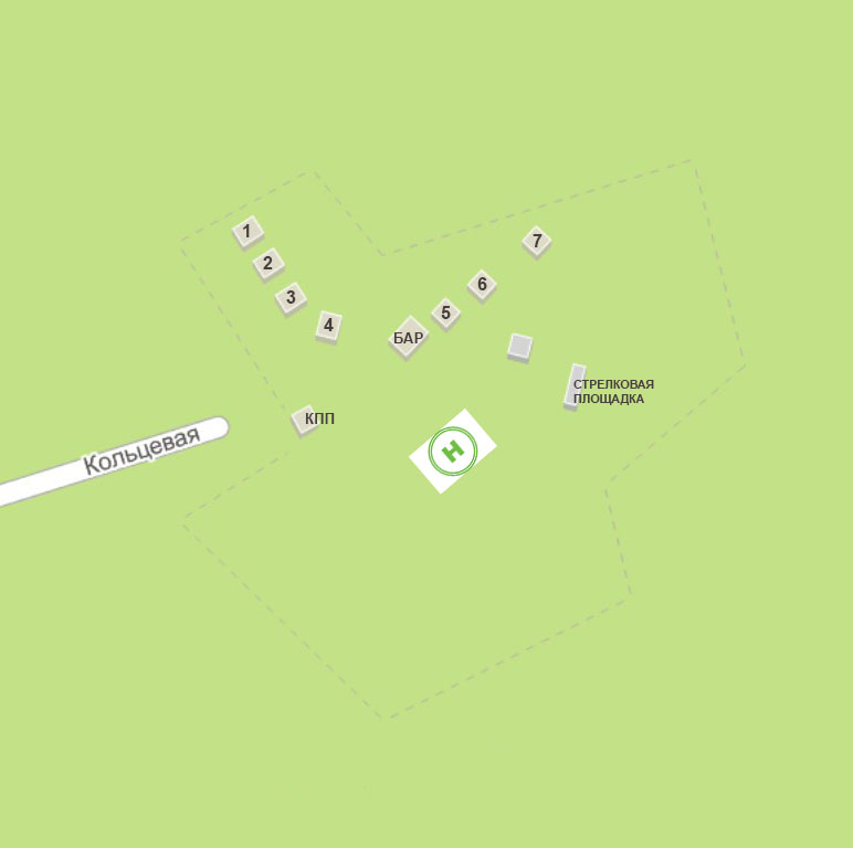 Карта территории Айтау